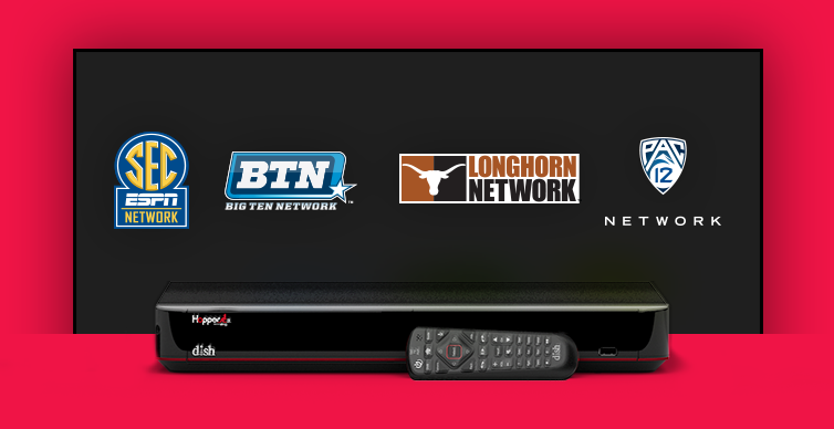 DISH College Sports TV Packages - Athens, Texas - Kerry Harris Satellite - DISH Authorized Retailer